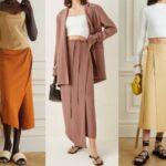 Модные юбки с запахом 2021